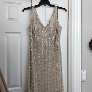 Adian Mattox gown size 10 (never worn)